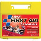 137 Piece Auto Car Vehicle First Aid Kit Large Plastic Case