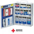 137-piece Medium Food Industry First Aid Cabinet Restaurant Deli Cafeteria- Metal