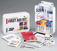 Trucker's First Aid Kit 16 Unit 87 Piece Metal Case