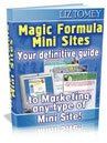 Magic Formula Mini Sites eBook