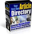 Your Very Own Article Directory eBook