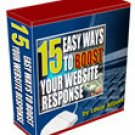 15 Easy Ways to Boost your Website Response