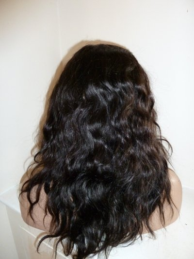 """12"""" Bodywave Indian Remy Full Lace Wig"""