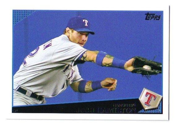 2009 Topps Texas Ranger 21 card team LOT