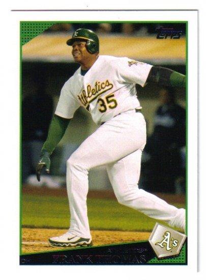2009 Topps Oakland Athletics 23 card team LOT
