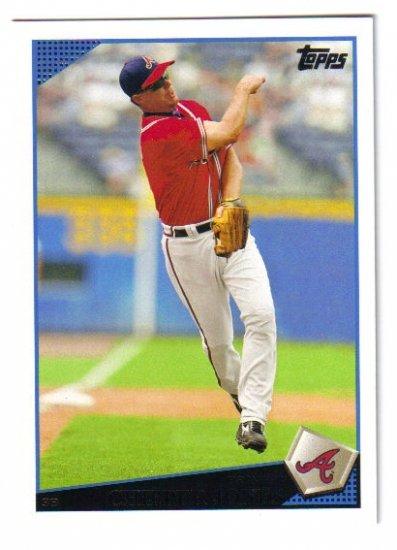 2009 Topps Atlanta Braves 21 card team LOT