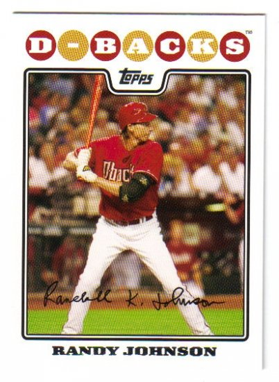 2008 Topps Arizona Diamondbacks 20 card team SET