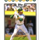 2008 Topps Oakland Athletics 22 card team SET