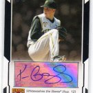 2008 Topps Highlights Autographs HA-TG Gorzelanny Pirates