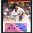 2007 Topps Highlights Autographs HA-DT Derrick Turnbow Brewers
