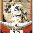 2007 Topps Joe DiMaggio The Streak Before the Streak 13-card LOT