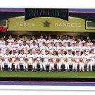 2006 Topps Texas Rangers 23 card team SET