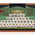 2006 Topps Florida Marlins 24 card team SET