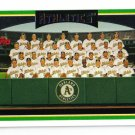 2006 Topps Oakland Athletics 23 card team SET
