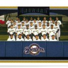 2006 Topps Milwaukee Brewers 20 card team SET