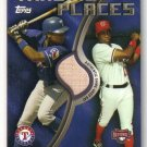 2006 Topps Trading Places Relics TPR-AS Alfonso Soriano GUB Rangers / Nationals