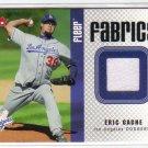 2006 Fleer Fabrics FF-EG Eric Gagne GWJ Dodgers