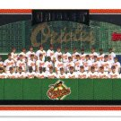 2006 Topps Baltimore Orioles 19 card team SET
