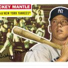 2007 Topps Mickey Mantle Story 17 card LOT