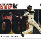 2005 Topps Barry Bonds Home Run History #661