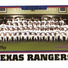 2005 Topps Texas Rangers 21 card team LOT