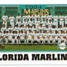 2005 Topps Florida Marlins 21 card team SET