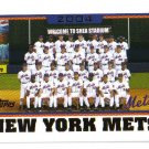 2005 Topps New York Mets 22 card team SET