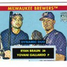 2007 Topps 52 Dynamic Duo lot of 2 cards