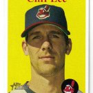 2007 Topps Heritage #258 Cliff Lee SP Indians Nrmt