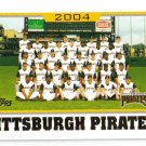 2005 Topps Pittsburgh Pirates 22 card team LOT