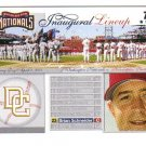 2005 Topps Update Washington Nationals Inaugural Lineup 4 card LOT