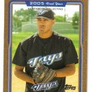 2005 Topps Gold Update UH322 Ricky Romero DP Blue Jays