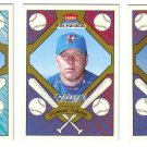 2004 Fleer Tradition Diamond Tributes 3 card LOT