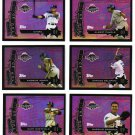 2004 Topps All-Stars 6 card LOT