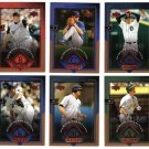 2004 UD Diamond All-Star 6 card LOT