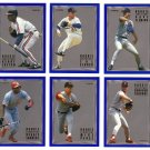 1993 Fleer Rookie Sensations 6 card LOT