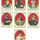2005 Topps Cracker Jack Mini Red 7 card LOT