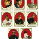 2005 Topps Cracker Jack Mini Stickers 8 card LOT