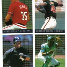 1995 Fleer Major League Prospects 4 card LOT