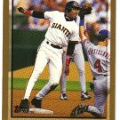 1998 Topps San Francisco Giants 13 card team SET