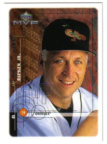 1999 Upper Deck MVP Baltimore Orioles 8 card team SET