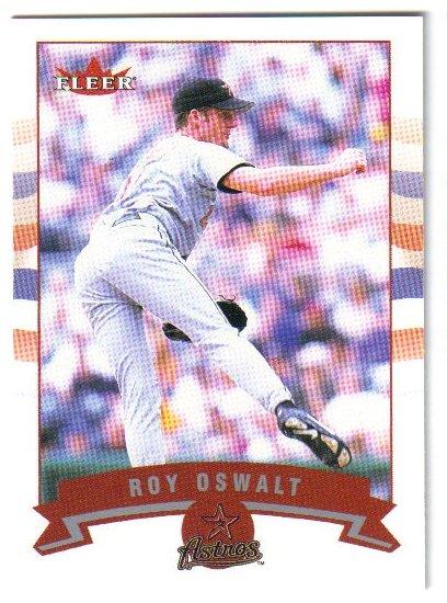 2002 Fleer Houston Astros 18 card team SET