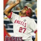 2010 Topps LA Angels 25 card team SET