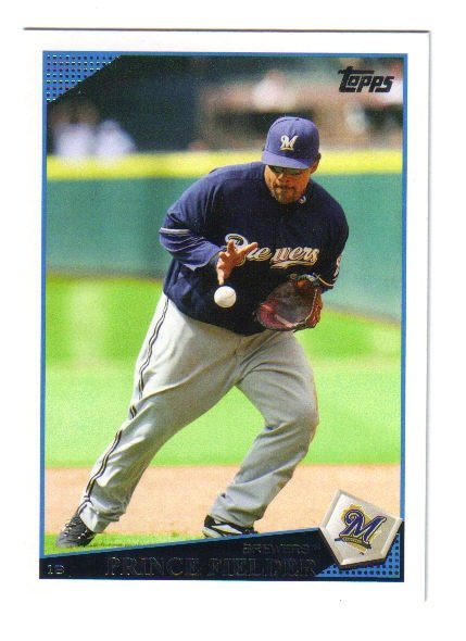 2009 Topps Milwaukee Brewers 25 card team SET