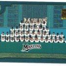 2001 Topps Florida Marlins 25 card team SET