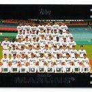 2007 Topps Florida Marlins 22 card team SET