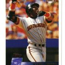1996 Topps San Francisco Giants 17 card team SET