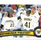 2011 Topps Pittsburgh Pirates 20 card team SET
