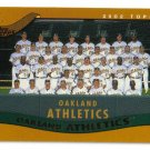 2002 Topps Oakland Athletics 26 card team SET