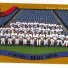 2002 Topps Toronto Blue Jays 21 card team SET